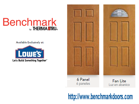 6 Panel and Fan Lite doors by Benchmark Therma Tru